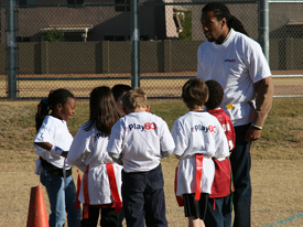 Larry Fitzgerald 2008 Play60 275